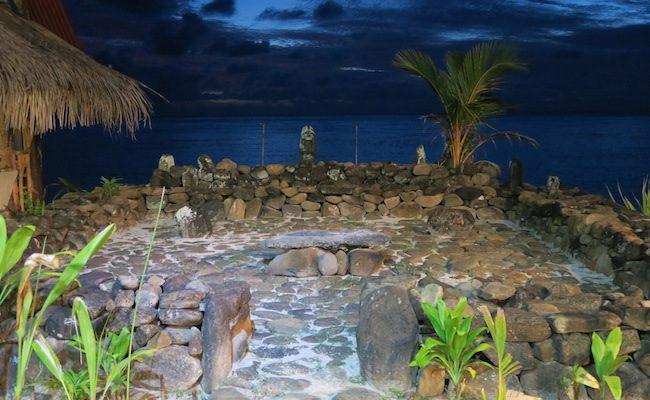 Tiki Village Moorea French Polynesia marae