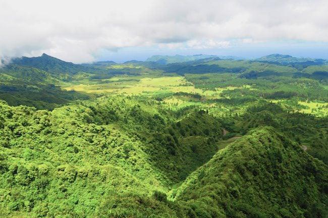 Toovii Plateau Nuku Hiva Marquesas Islands French Polynesia