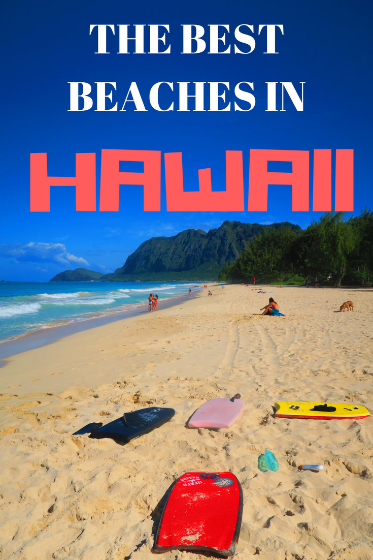 Top Beaches in Hawaii - Pin