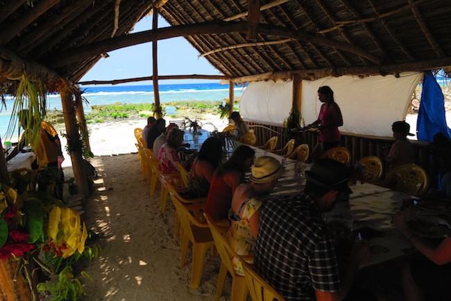Traditional Lunch In Taka Village Vanuatu