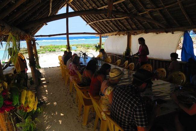 Traditional Lunch In Taka Village Vanuatu