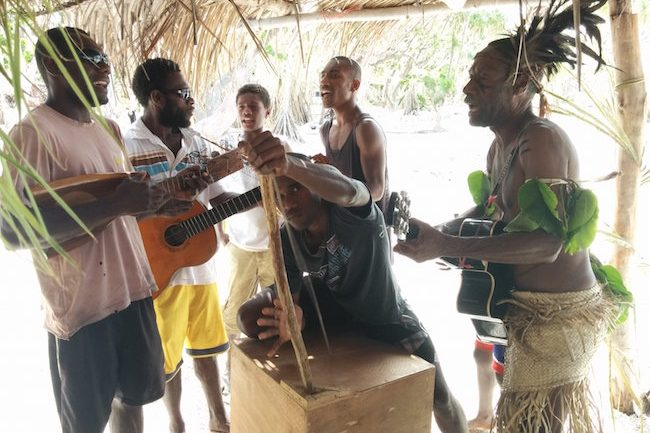 Traditional Vanuatu Music - Taka Village