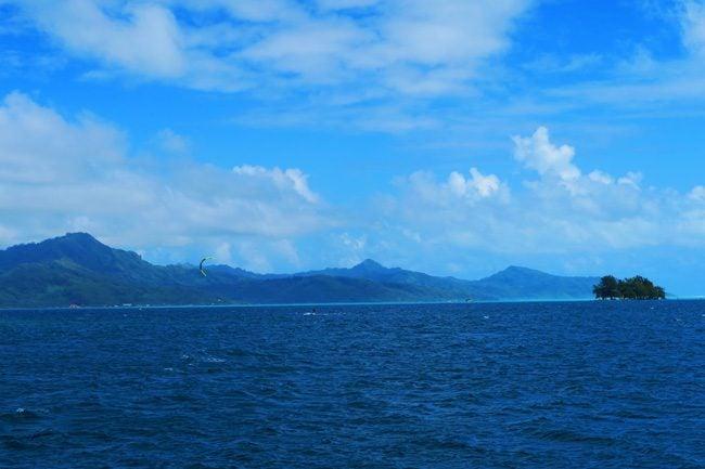 Uturoa harbor Raiatea Island French Polynesia