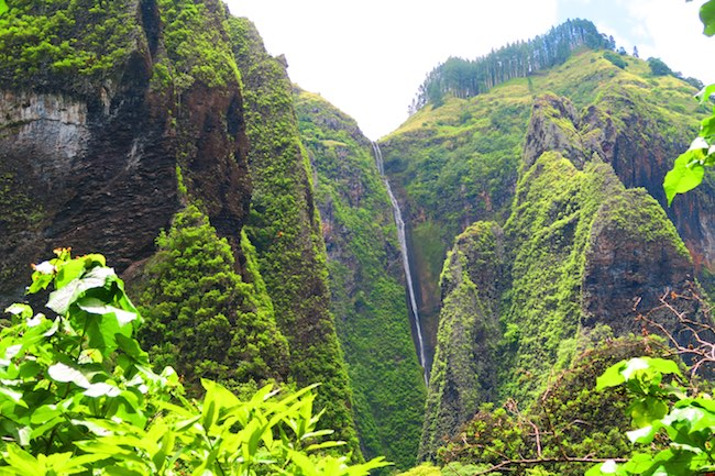Vaipo Waterfall Nuku Hiva Marquesas Islands French Polynesia