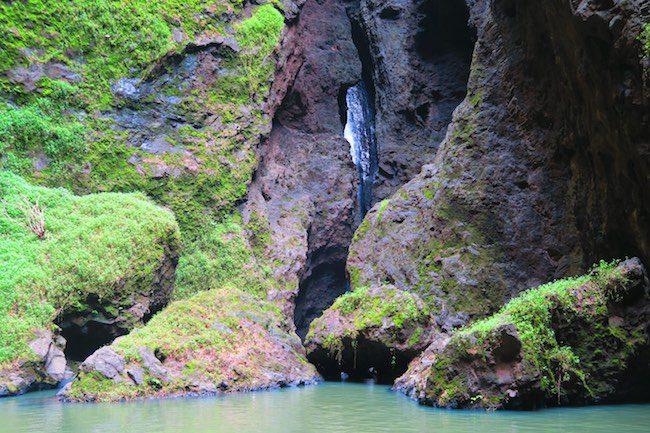 Vaipo Waterfall pool Nuku Hiva Marquesas Islands French Polynesia