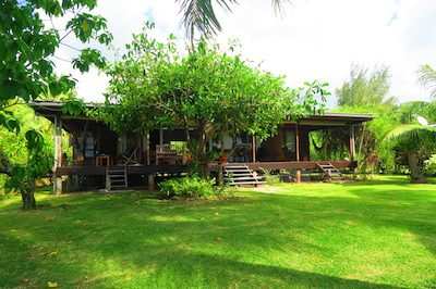 Villa Temehani Raiatea accommodation - home
