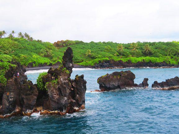Waianapanapa State Park - Maui Hawaii - Pinnacles