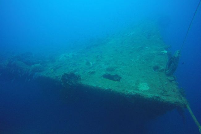 Wreck Diving SS President Coolidge Vanuatu