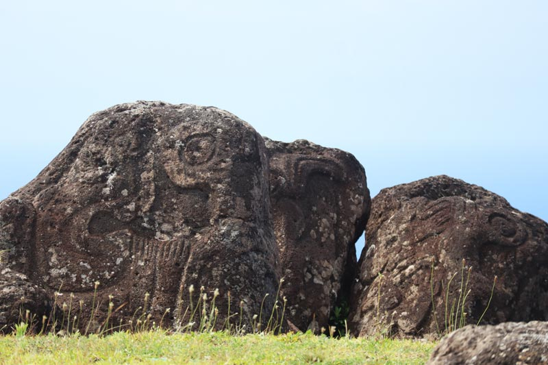 birdman Petroglyphs - Orongo - Easter Island