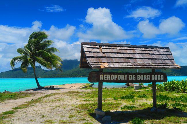 bora bora airport french polynesia