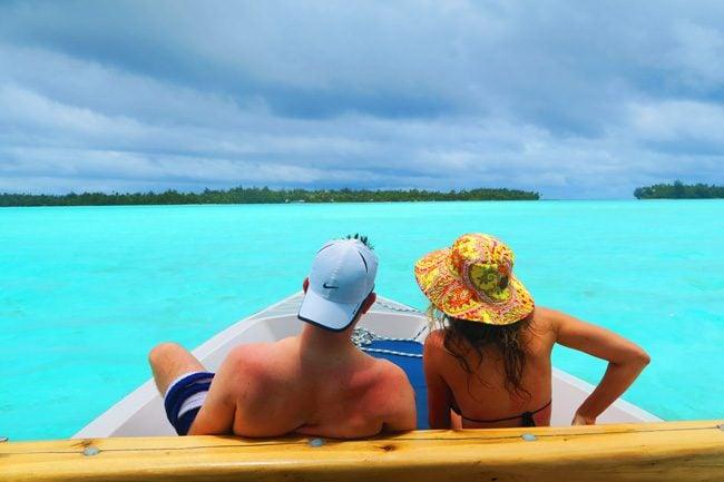 lagoon tour bora bora french polynesia