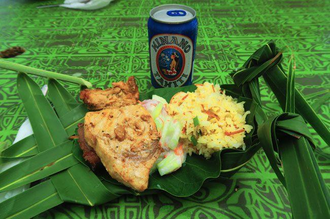 lagoon tour in bora bora french polynesia lunch