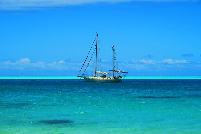 matira beach bora bora french polynesia yacht