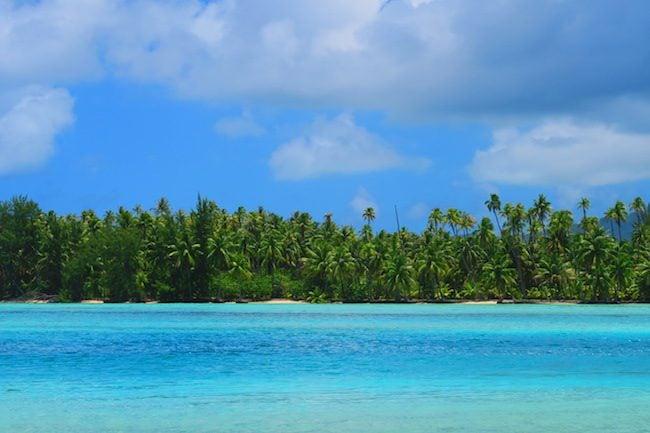 old sofitel tropical beach Huahine Island French Polynesia