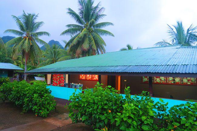 pension chez pascal tahaa french polynesia