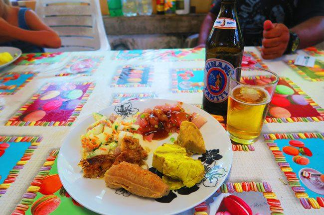 tahitian polynesian food at maa tahiti tahaa french polynesia