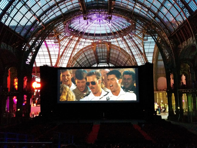 Top Gun Grand Palais Cinema Paradiso 2