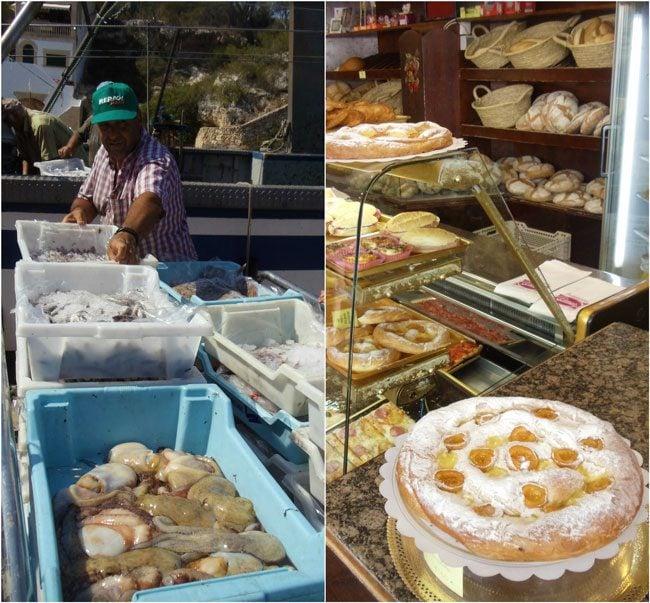 Cala Figuera & ensaimada Mallorca