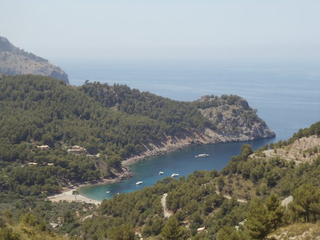 Cala Tuent Mallorca lookout point