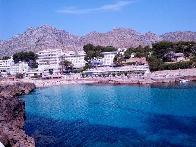 Cala san Vincente Beach Mallorca