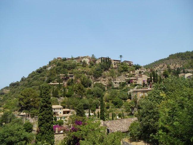 Deià Mallorca hilltop village