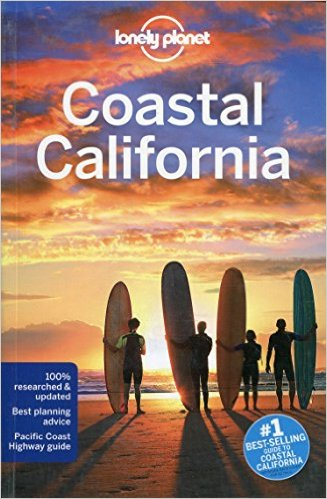 Lonely Planet Coastal California Cover