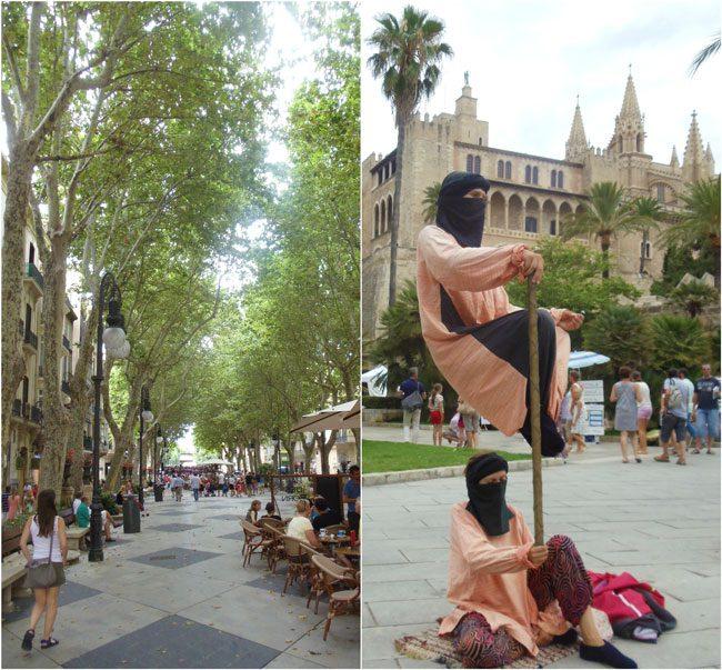Passeig del Born Palma de Mallorca