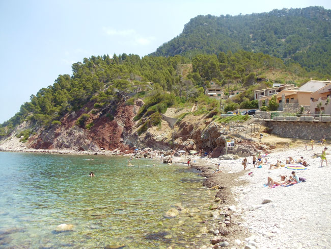 Port Valldemossa Mallorca beach