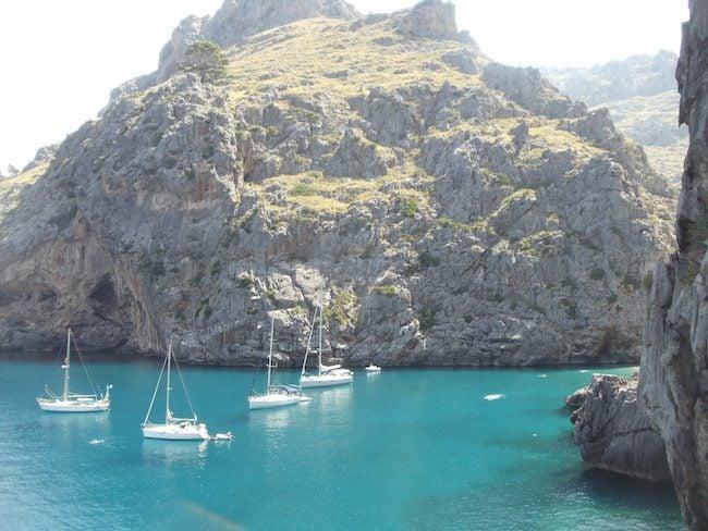 Sa Calobra Mallorca beach clear waters