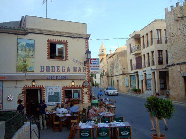 Ses Salines Mallorca village Spain