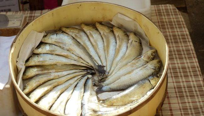 Sineu Market Mallorca fish