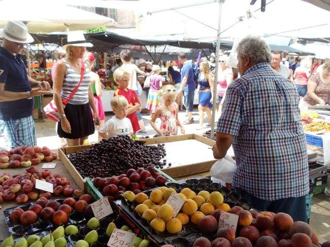 Sineu Market Mallorca fruits