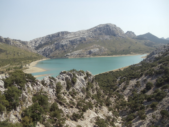 The emerald lakes Mallorca