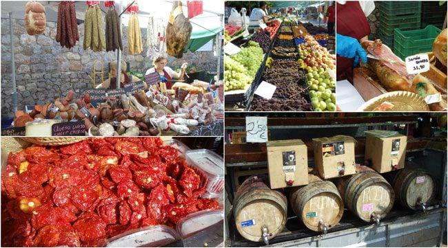 Valldemossa-Mallorca-village-market