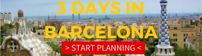 3 Days in Barcelona