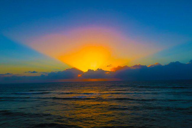 Amazing sunset in Sunset Cliffs San Diego California2