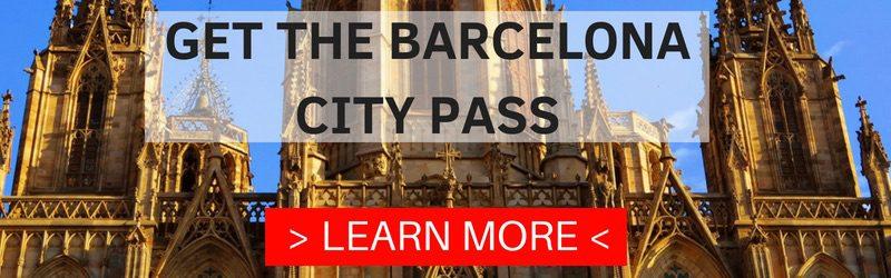 BARCELONA CITY PASS BANNER