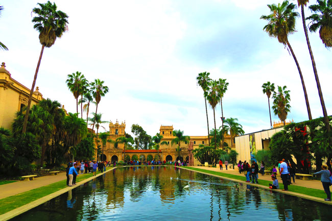 Balboa-Park-San-Diego-main-water-pool