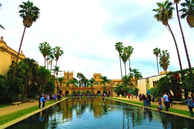 Balboa-Park-San-Diego-main-water-pool