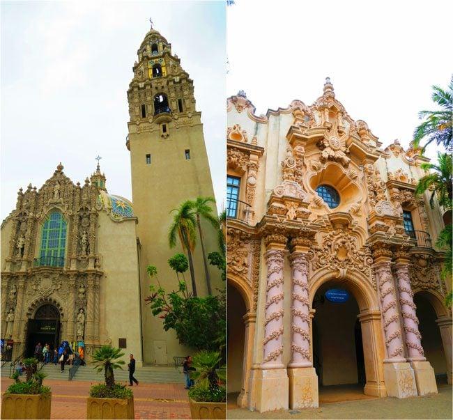 Balboa-Park-Spanish-architecture