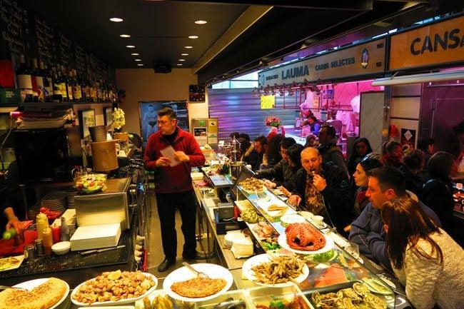 Bar Clemen's Tapas Bar Barcelona