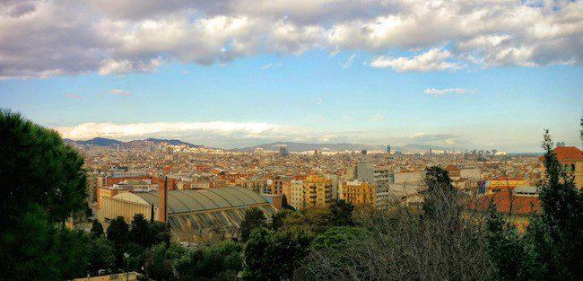 Barcelona Panormaic View