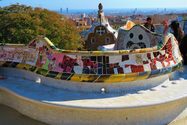Barcelona Park Guell Best Photo Spot