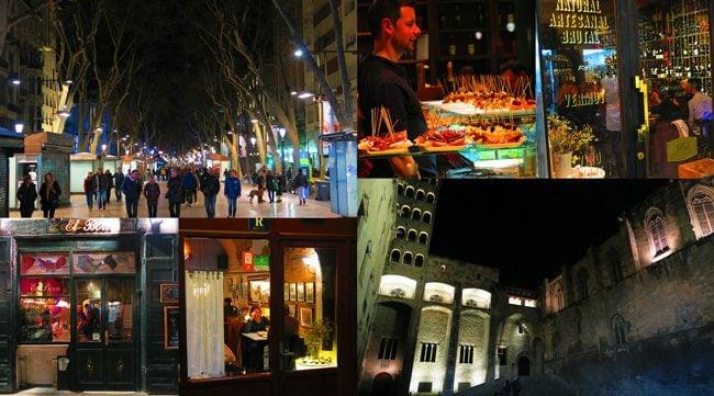 Barcelona-by-night