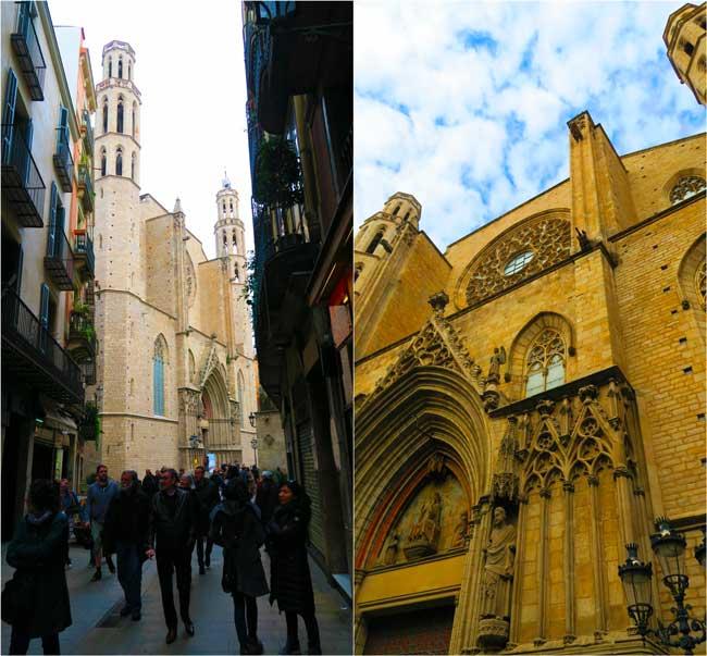 Basilica of Santa Maria del Mar Barcelona
