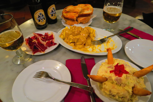 Bodega la Palma Barcelona Tapas Bar Food