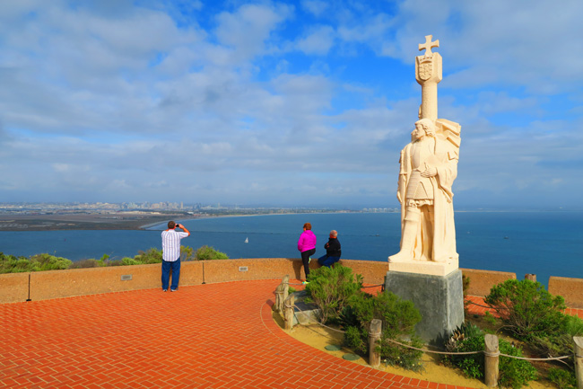 Cabrillo-Point-San-Diego-lookout-point