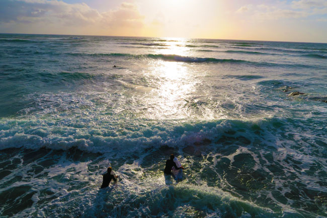 California surfing San Diego