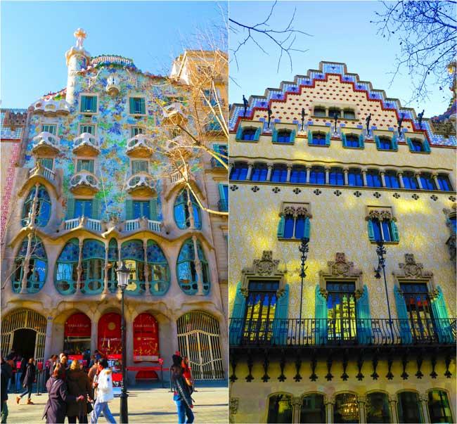Casa-Batllo-and-Casa-Amatller-Barcelona