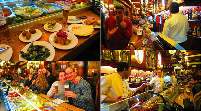 El Vaso de Oro Best Barcelona Tapas Bar Collage